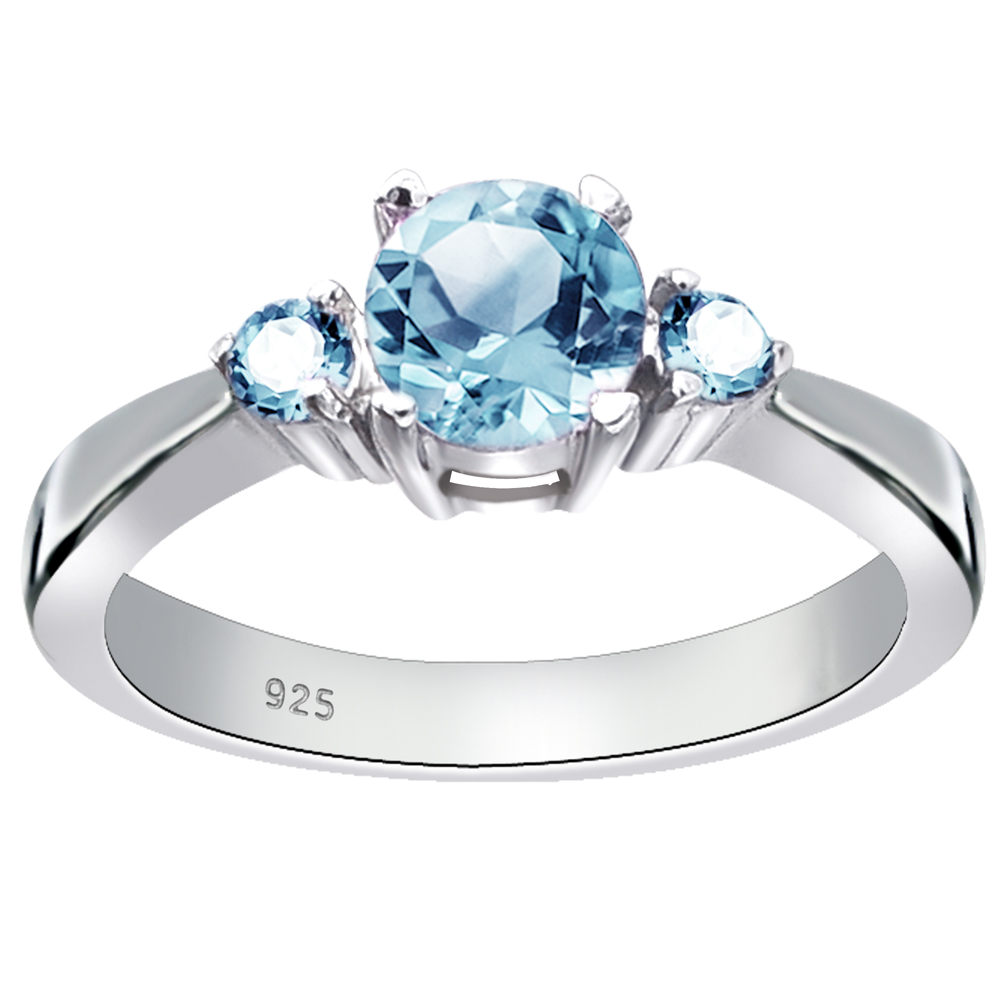 Damen Sterling 925 Silber 0,75 CT Farbwechsel Granat Solitaire Ringe