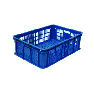 Wholesale food grade plastic crate agricultural plastic food crates
