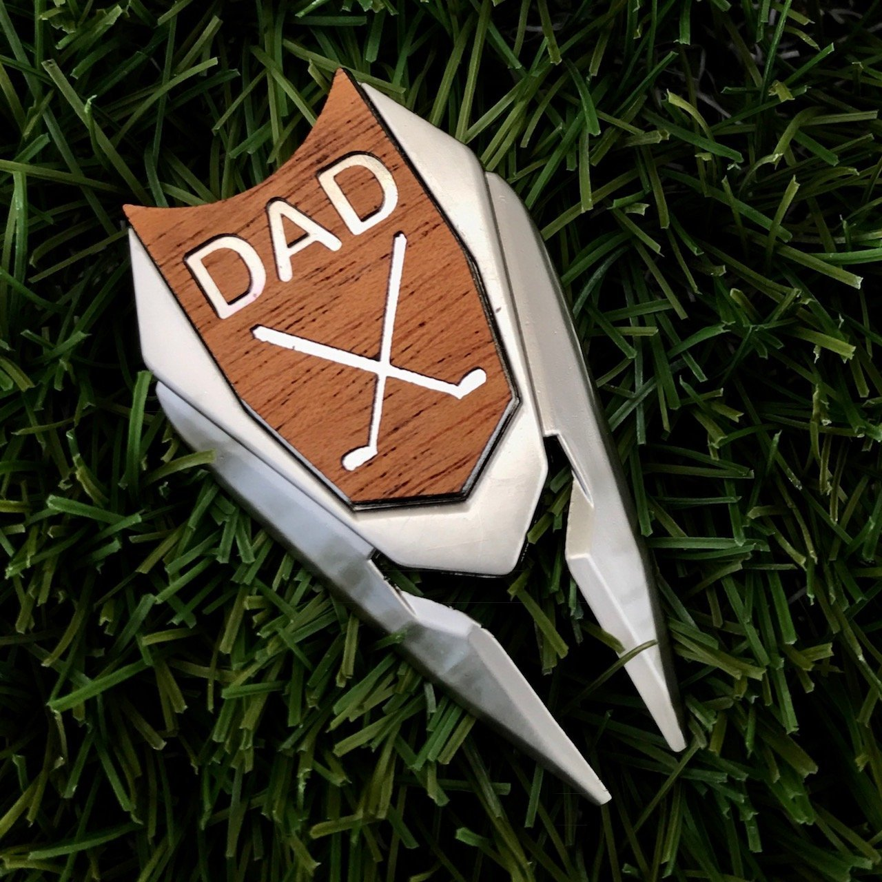 Get Quotations WOODULIKE DAD Engraved Golf Ball Marker Divot Tool In Optional