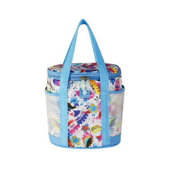 THE BEST DESIGN CUTE COLORFUL COOLER BAG FOR FROZEN FOOD AND WINE WITH HIGH QUALITY
