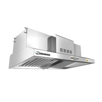 Restaurants & Hotels Kitchen Range Hood ESP, Exhaust Hood ESP