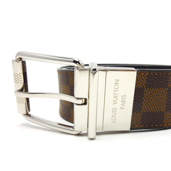 5a2962684309 Used original Brand LOUIS VUITTON M9154S DAMIER PRINT 40MM REVERSIBLE Belt  for bulk sale.