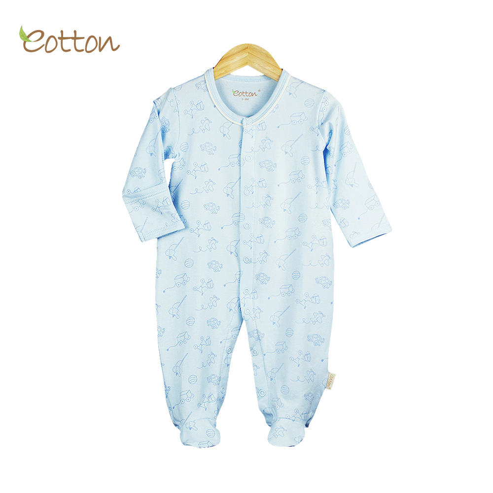 GOTS & OEKOTEX Certified Baby Boy Romper Sleeper
