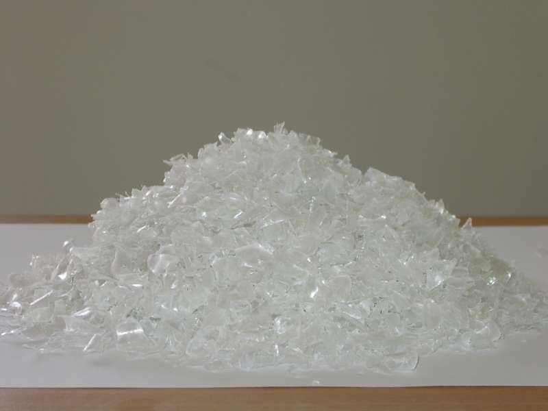 virgin recycled PET resin & hot washed PET bottle scrap / PET flakes /