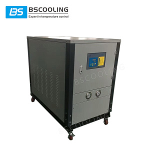 4 ton cooling capacity 5p/5hp compact water chiller for plastic injection moulding