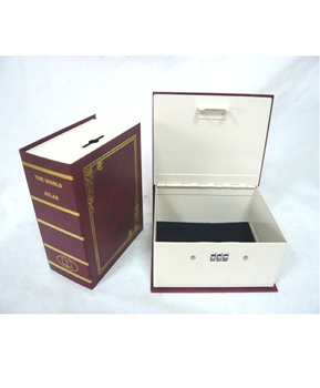 bbc01fd1dd72 Book Shape With Coin Slot Small Metal Cash Box Hidden Money Box Home Safe  With Combination Lock - Buy Hidden,Money Box,Safe Product on Alibaba.com