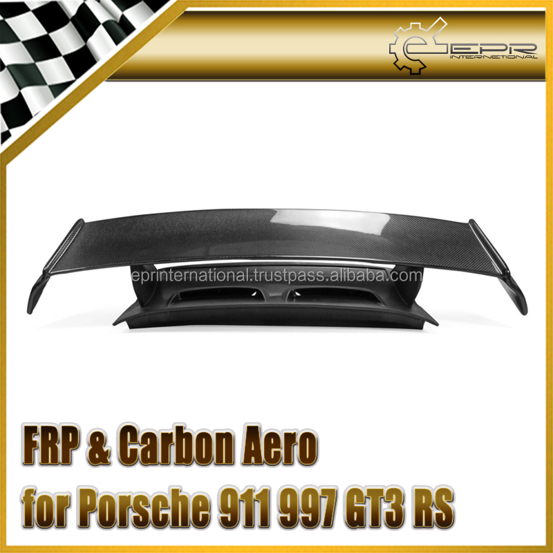 For Porsche 911 997 GT3 RS Carbon Rear Trunk with spoiler PCF