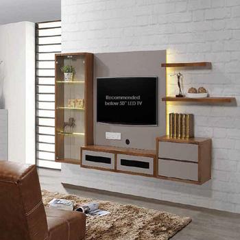 Modern Design Wall Hanging Wood Tv