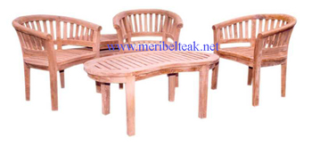 Teak Furniture-BEAN SET-Indonesia Furniture