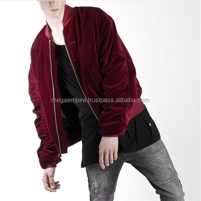 Velvet Bomber Jacket, Velvet Bomber Jacket Suppliers and Manufacturers at  Alibaba.com