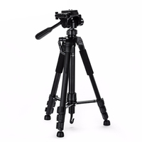2019 New product ST-666 lightweight professional camera tripod flexible tripod for dslr camera and phone