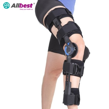 Telescoping Hinged Knee Brace