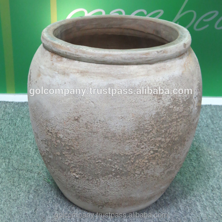 Antique Terracotta Pots Planters