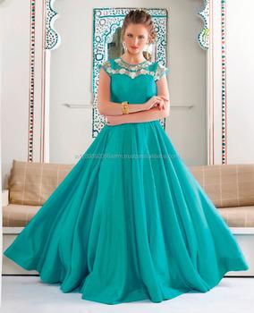 Latest Fashion Women Wear Designer Light Rama Green Color Art Silk