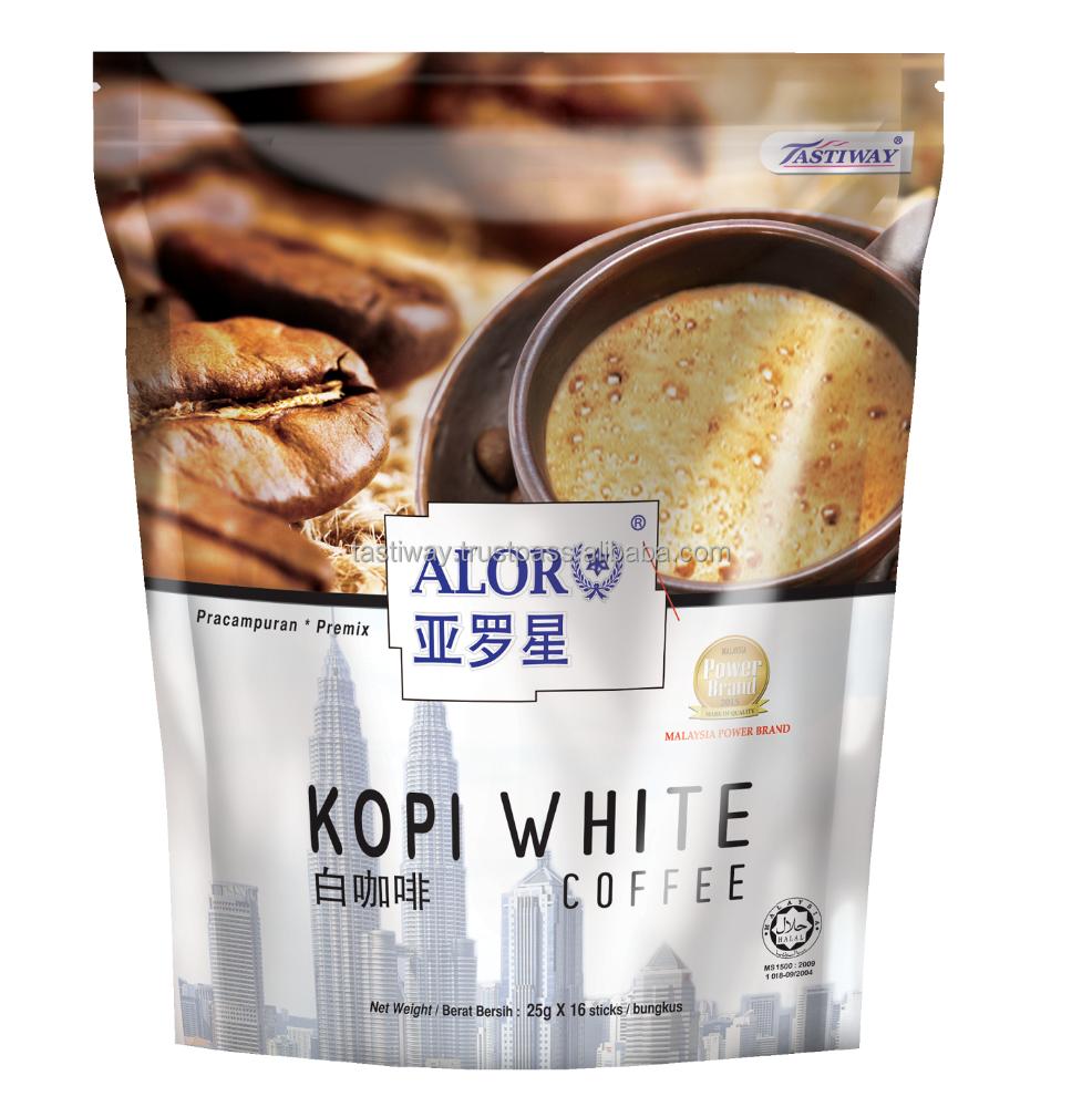 White Coffee Buy Coffeepremix Coffeeinstant Product Kopi Wihte On