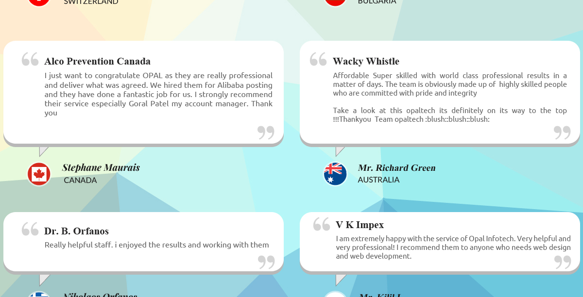 OPAL INFOTECH - Web Design & Development, Ecommerce Solutions