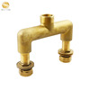 Floor Heating Manual Forging Nickel Plating or brass natural color Brass Manifold