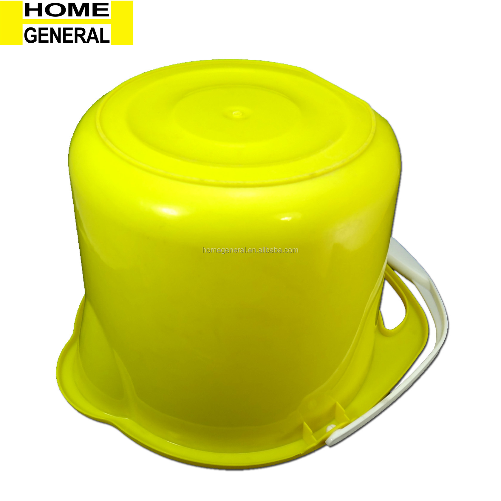 BUCKET GENERAL PLASTIC CLEAN UP BUCKET PLASTIC BUCKET WITH HANDLE