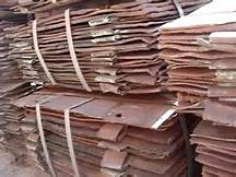 Zambia / Congo High purity copper cathode 99.99% for sale in Tanzania