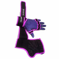 ventilated weight lifting gloves fitness gloves 2017 hot selling gloves