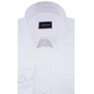 100% Cotton Long Sleeve Oxford Shirt for Man With High Quality