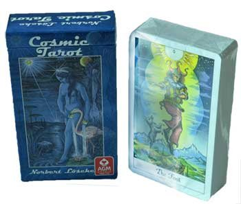 Novelty Toys Tarot Cards Celestial Cosmic Symbols Icons Interpretations on Three Levels 78 Cards