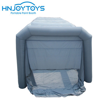 Very cheaper commercial grade inflatable table paint booth durable inflatables oven for sale
