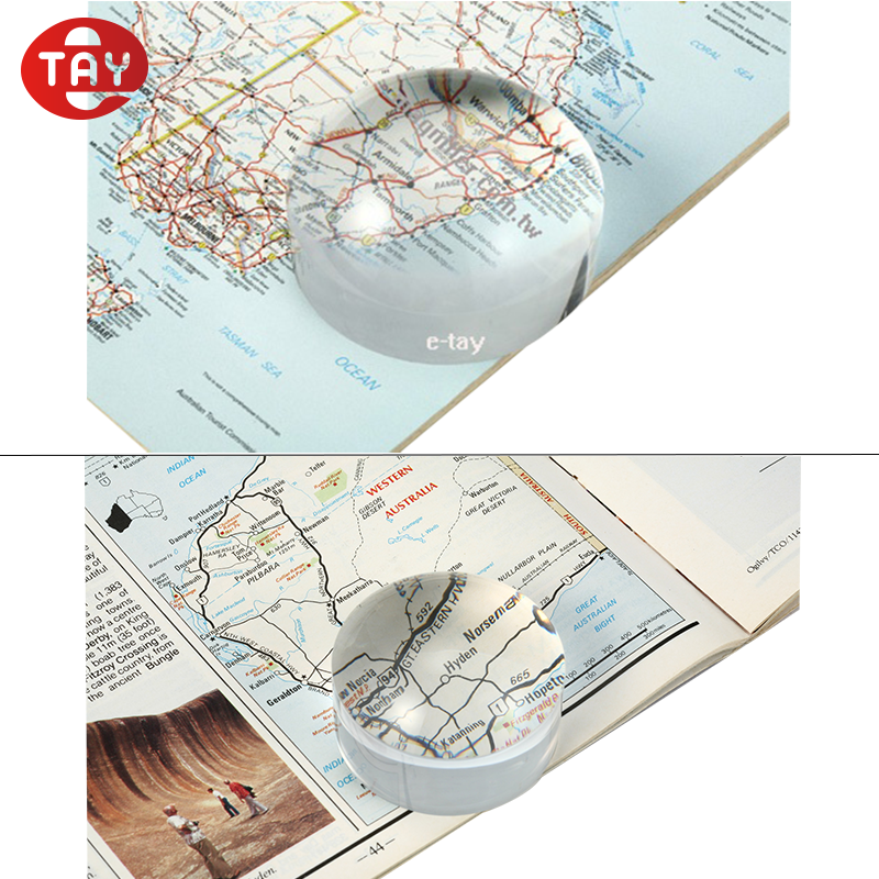 Clear Dome shaped Magnifier with Acrylic Lens