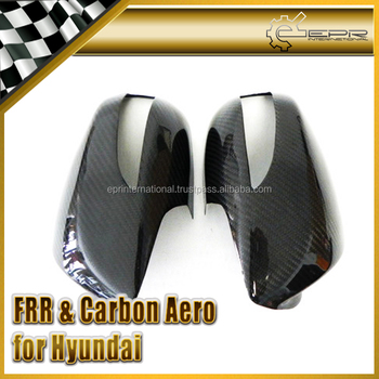 Carbon Mirror Cover For Hyundai Genesis Coupe 08-12