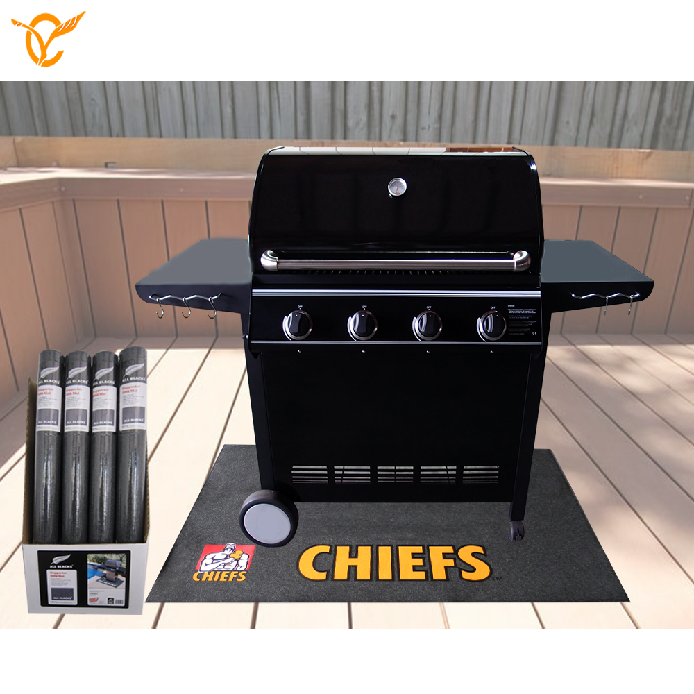 Licentie NRL Rugby Team logo Storm BBQ Grill Mat