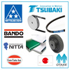 Durable best timing belt brand (Mitsuboshi, Bando, Nitta, Gates Unitta Asia, Tsubaki)