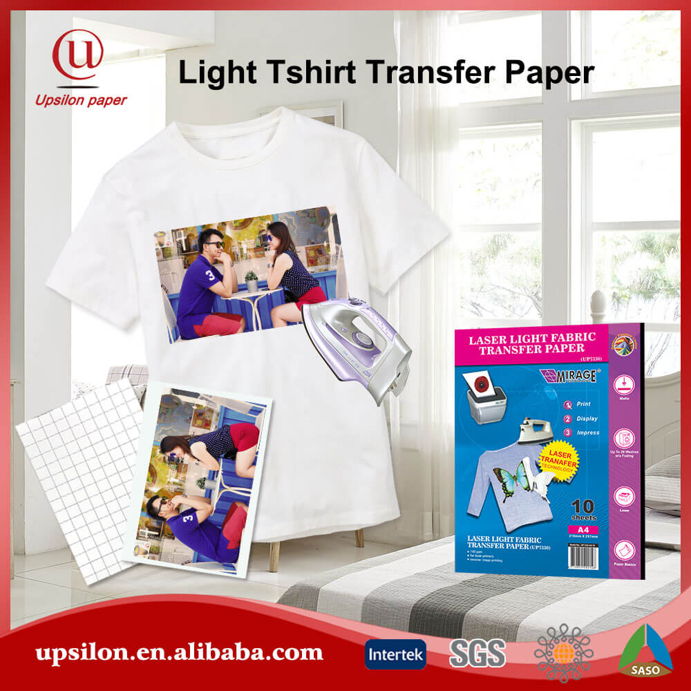 Diy Light Textile Laser Printable Heat Transfer Film