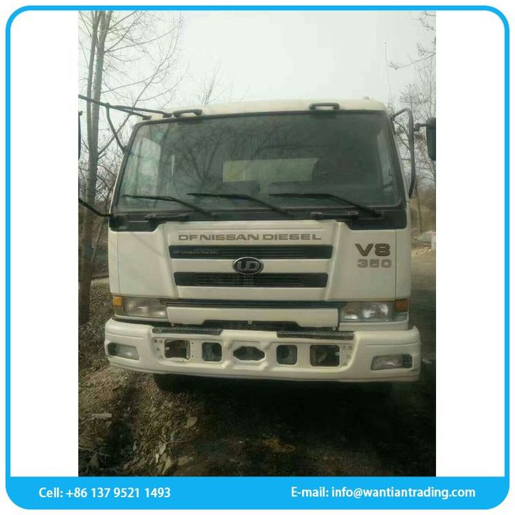 International model hot sell used dumping garbage truck