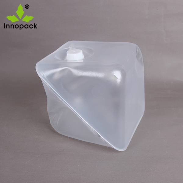 HDPE 4 liter plastic jerry can collapsible