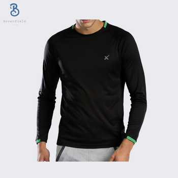 08ef09efb0b74 High Quality Custom Logo Printed Long Sleeve Wholesale Promotional Jersey  Dry Fit Sports T Shirt - Buy T-shirt,Wholesale T-shirt,Promotional T-shirt  ...