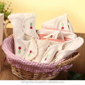 Sanitary Cloth Pad / Cotton Menstrual Pads: 100% natural cotton