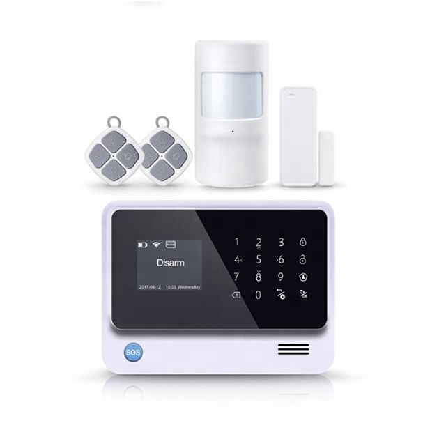 iPhone &amp; Android APP Home Alarm G90B Plus <strong>GSM</strong> Wifi with Two-way Intercom Function PST-G90B Plus 3G