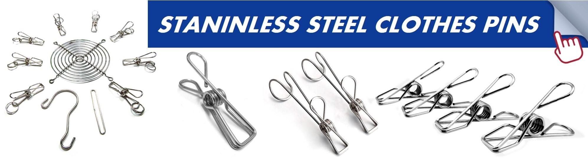 Custom Manufacturing  Steel Black Dual Hook Tension Spring for JIS