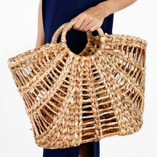 Eco friendly big straw bag