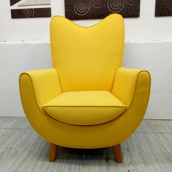 Modern Single Seater Fabric Sofa Chair