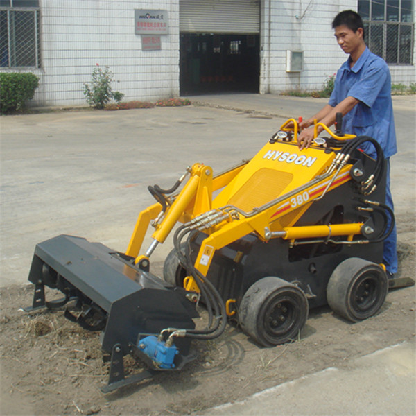 HYSOON HY380 Mini skid steer loader como toro dingo