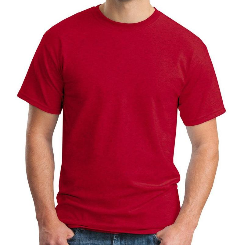 Custom Red All Colors T-shirt - Buy Cotton