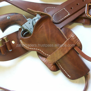 Western Hunter Geniune Cow Leather Gun Holsters(ZR160)