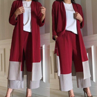2019 Women clothing muslim women long dress set/clothing