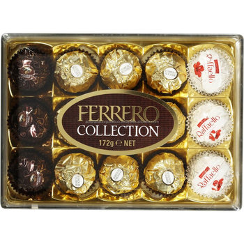 Ferrero Collection Chocolates T15 Rocher Rondnoir Raffaello 15pk