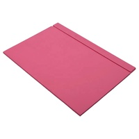 PU Leather Desk Pad Desk mat Desk pad Table mat Mouse pad Pink By Guner Ofis