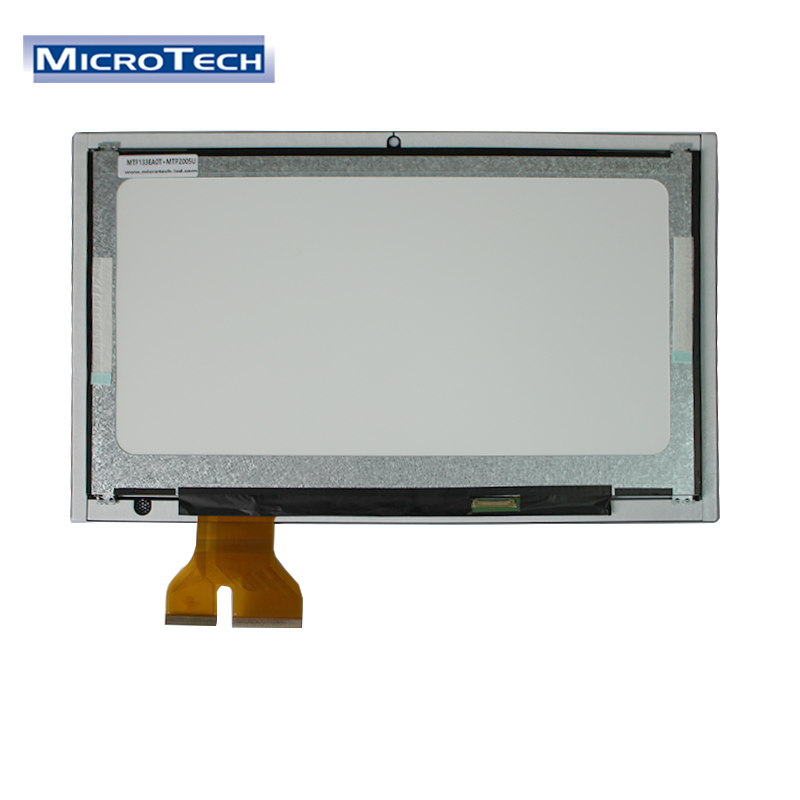 TFT LCD Module Manufacturer High Resolution 1920x1080 30Pin 13.3 Inch Panel Transparent Touch Screen Monitor