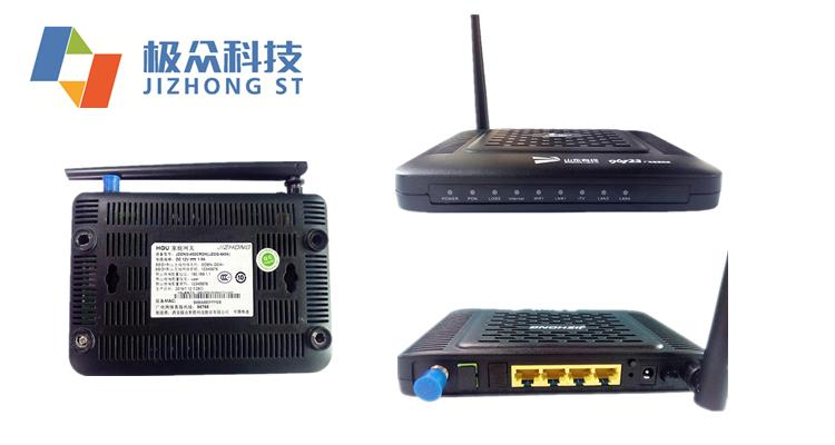 Jizhong 4 Ports Pon Fiber-home Fiber Optic Onu Gpon Epon Xpon With