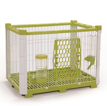 611-MO Taiwan design Pet Open-Top Trendy product Easy Set Up Wire Cage Cat Pet Cages