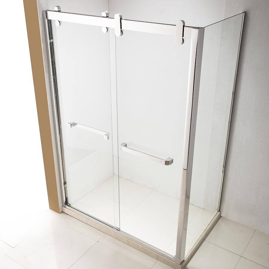 Rahmenlose Schiebeturen Dusche Zimmer Tur Gehause Glas Bad Buy